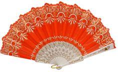 Spanish silk hand fan
