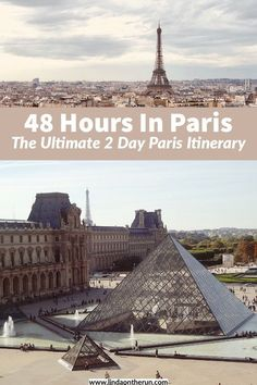 Looking for the perfect 2 days in Paris itinerary? There is so much to see & do, even if you only have 2 days in Paris! This guide wiill definitely help you Paris France Travel, Paris Travel Guide, Europe Travel Tips, European Travel, Travel Guides, Travel Destinations, Euro Travel, Backpacking Europe, Provence