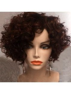 Human Hair Lace Wigs Humble May Queen Hair Brazilian Afro Kinky Curly Short Human Hair Wigs For Black Women Natural Black Color Be Novel In Design