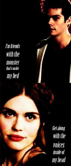 Stiles and Lydia #teenwolf #Stydia tumblr #emotionaltether #strongconnection #perfectcombination #endgame