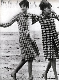 """Models wearing Chanel Vogue - 1965 """" [Scanned by Youthquakers] """""""
