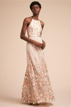 BHLDN Shannon Dress Ivory in Bridal Party | BHLDN