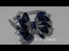Como fazer laço mil faces Diy ,Tutorial ,Pap By Iris Lima How To Make a Hair Bow - YouTube