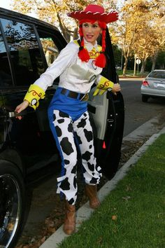 Gwen Stefani is so cool!  :)  Jessie from Toy Story!