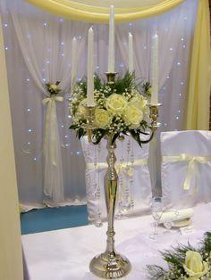 stół Młodej Pary Topaz-dekoracje Biała Podlaska