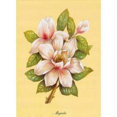 Image 3D Fleur - Magnolia 24 x 30 cm