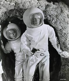 James Olson & Catherine Schell, Moon Zero Two, 1969