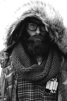 I've never found a long beard so attractive in my life