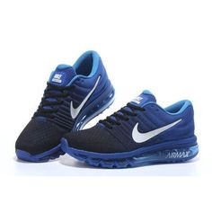 innovative design acdcf bd431 Nike Air Max 2017 Mesh Women Men Black Blue offer a super comfortable fit. If  you wear Nike Air Max will fell the Nike Air Max 2017 suits you best.