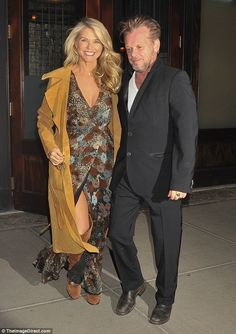 Sexiest 62-year-old ever: Christie Brinkley celebrated turning 62 over a late dinner with her rocker boyfriend John Mellencamp on Tuesday