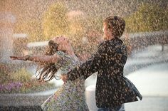 Can I Have This Dance? (Zac Efron and Vanessa Hudgens, High School Musical) High School Musical 3, Rain Dance, Ballet Dance, Singing In The Rain, Learn To Dance, Hopeless Romantic, Romantic Dance, Cute Couples, Sweet Couples