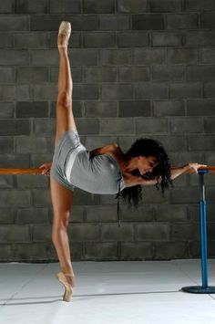 This is the reason I stay fit and strive to stay fit because a dancers body is strong and beautiful