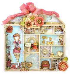 Julie Nutting's Doll House and Doll Stamps