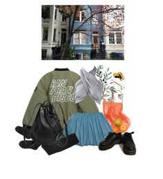 """""""ok"""" by paper-freckles ❤ liked on Polyvore featuring Chicnova Fashion, Retrò, Monki and Dr. Martens"""