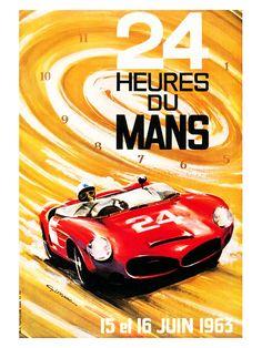 24 Heures du Mans/15 et 16 Juin/1963