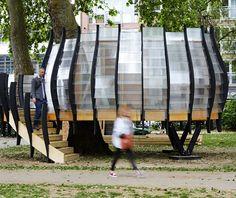 'TREExOFFICE' Pop-up Co-working Space by Natalie Jeremijenko