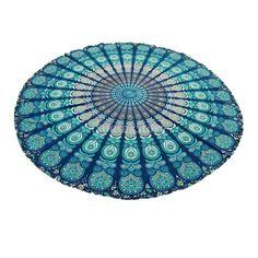 Indian Mandala Tapestry Hippie Wall Hanging Bohemian Bedspread Dorm Decor Beach Yoga Mat 4 Colors Pick