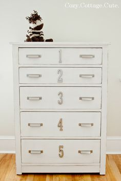 DIY Vintage Inspired Dresser Makeover