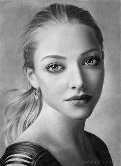 Pencil Drawing Portrait Artwork~ By Amanda 20