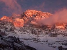 La inmensidad. Cerro Aconcagua. Mendoza Argentina