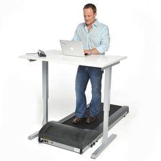 Really?! Treadmill desk. Only at Fab! LoL