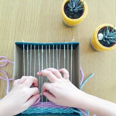 DIY: Weaving Loom Made from a Shoe Box! 2019 Cardboard Weaving Loom The post DIY: Weaving Loom Made from a Shoe Box! 2019 appeared first on Weaving ideas. Nikon Camera Tips, Canon Cameras, Nikon Dslr, Canon Lens, Camera Gear, Film Camera, Shoe Box Art, Crafts To Do, Crafts For Kids