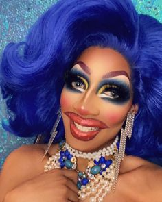 "Jaida Essence Hall on Instagram: ""I had the most fun ever tonight recreating @crystalmethyd iconic mug! Thank you sis for coming on taking questions and keeping me laughing…"" Essence Makeup, Beauty Makeup, Drugstore Beauty, Face Facial, Maybelline, Nyx, Rupaul, Facial Cleanser, Korean Skincare"