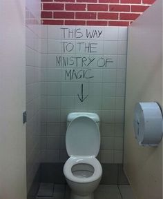 If only I could do this in one of the school stalls...maybe during Literacy Week?  Obviously it would be with non-permanent marker.