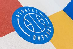 Ill-Studio has collaborated with Pigalle to create a basketball court named Pigalle Duperré between a row of buildings in the arrondissement of Paris Ill Studio, Studio Logo, Pigalle Basketball, Basketball Court, African Logo, Kazimir Malevich, Street Marketing, Paris Apartments, Club