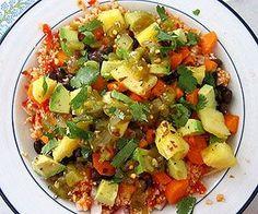 Mexican Cauliflower Rice Bowl