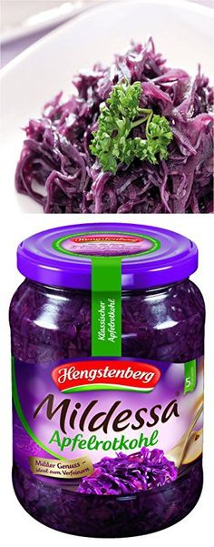 Traditional Hengstenberg Red Cabbage 650 g Red Cabbage, Baby Food Recipes, Beverages, Traditional, Vegetables, Purple Cabbage, Recipes For Baby Food, Vegetable Recipes, Veggies