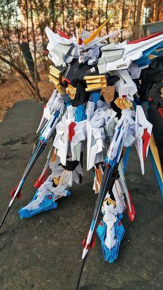 GUNDAM GUY: Gundam Papercraft: Strike Freedom Gundam