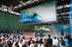 Novosibirsk Aircraft Production Association au nom de Chkalov VP 85 anniversaire et le centième Su-34