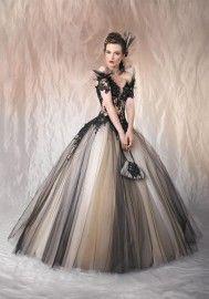 Fantastische zwarte trouwjurk ! Sprookjes achtig !                                Alicia Black wedding dress