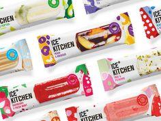 Ice Cream Packaging Design make Ice Cream More desirable? Dairy Packaging, Ice Cream Packaging, Milk Packaging, Food Packaging Design, Packaging Design Inspiration, Fruit Ice Cream, Vegan Ice Cream, Ice Cream Brands, Italian Foods