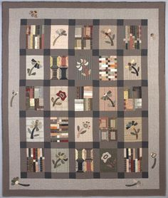 Oriental Taupe Quilt !