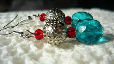 glass beads and metal