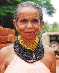 A local Gowda woman.