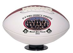 Full Color Imprinted Football - No Set Up Charges - Minimum Qty 1