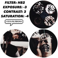 (Julia)☕️  Dark Filter ☁️  Looks best with everything! ‼️  Click the link in my bio to get free vsco filters! ❤️  Like this for more tutorials.   Dm us with any suggestions. Credit to @xo.tumblrgirlz for the pictures in this edit.
