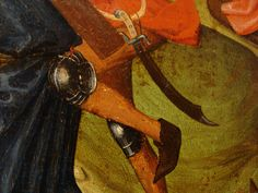 "Detail from ""Scenes from the Passion of the Christ,"" from the Museum M, Leuven, Belgium (1470-1490)."