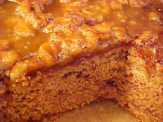 Amazing Date Cake - Jehane Benoit  Gâteau aux dattes super délicieux  CAKE: 1 cup chopped dates; 1 cup hot water; 1 1/2 cups flour; 1 tsp baking powder; 1 pinch salt; 1/4 cup softened butter (or margarine); 3/4 cup sugar; 1 large egg; 3/4 tsp baking soda. Topping: 5 Tbsp butter; 3 Tbsp heavy cream; 1/2 cup brown sugar; 3/4 cup roughly chopped walnuts.  Preheat oven to 325; grease an 8-inch square pan.