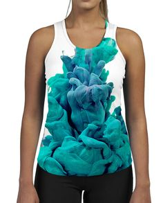 Blue Bubble WOMENS GYM TANK Fitness Work Out Colour Vest Top Smoke Vape Puff in Clothes, Shoes & Accessories, Men's Clothing, T-Shirts | eBay