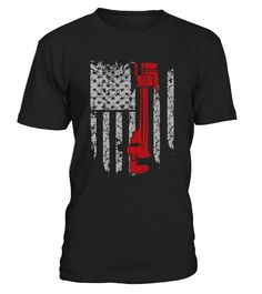 Diesel Mechanic America Flag t-shirt