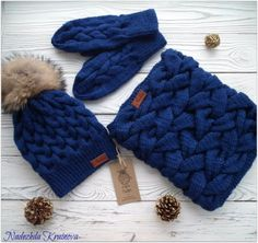 Knitting Stitches, Hand Knitting, Knitting Patterns, Cute Beanies, Hat And Scarf Sets, Diy Home Crafts, Beanie Hats, Hats For Women, Lana