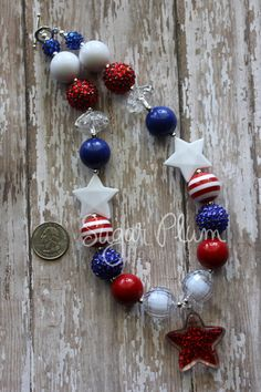 Hey, I found this really awesome Etsy listing at https://www.etsy.com/listing/184967204/4th-of-july-girls-jewelry-patriotic