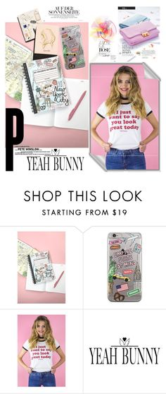 """YEAH BUNNY 16"" by irinavsl ❤ liked on Polyvore featuring Garance Doré"