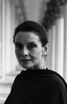 Audrey Hepburn...came from nothing, survived holocaust deportation; never forgot what hunger felt like...
