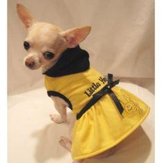 Little Honey Happy Bumble Bee Dog Hoodie