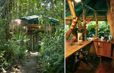 #Wanderlusting for the unusual? Check out 10 unique places to stay, like the Tree House Lodge in Costa Rica. #Treehousing #SummerofDoing